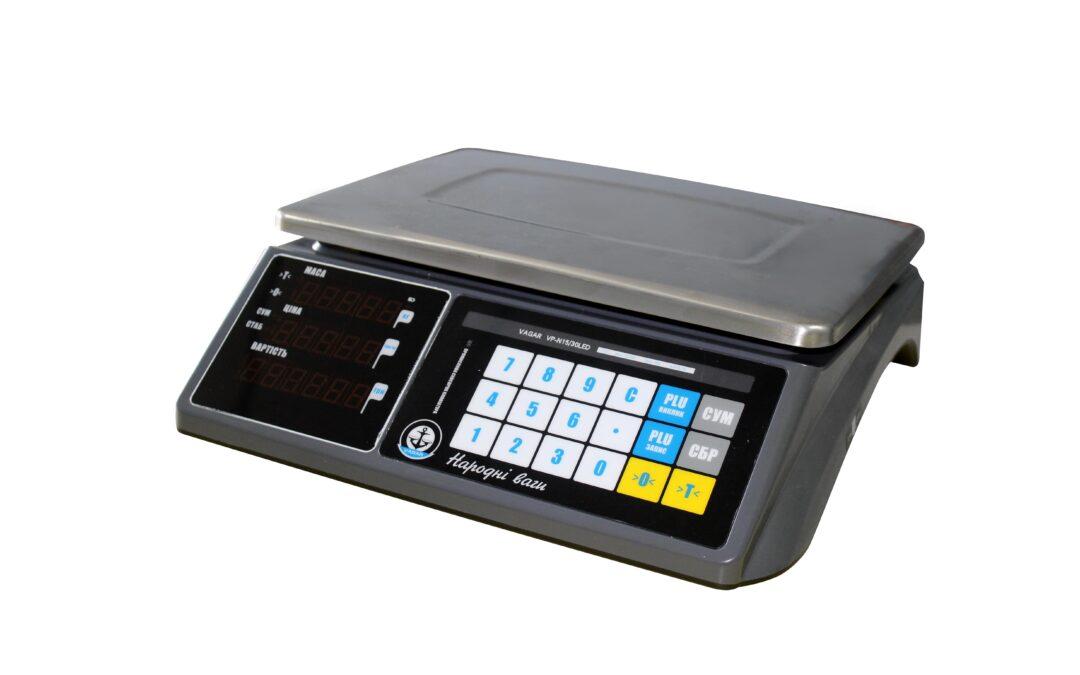 Новинка — весы VAGAR с RS232 и сенсорной клавиатурой